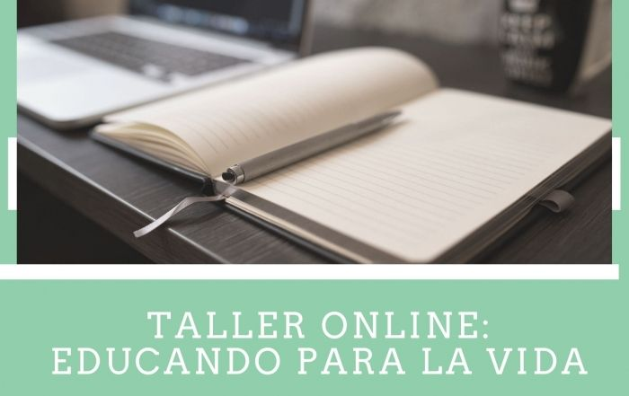 taller online educando para la vida -
