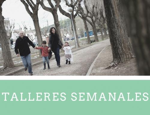 TALLER SEMANAL PARA PADRES Y MADRES