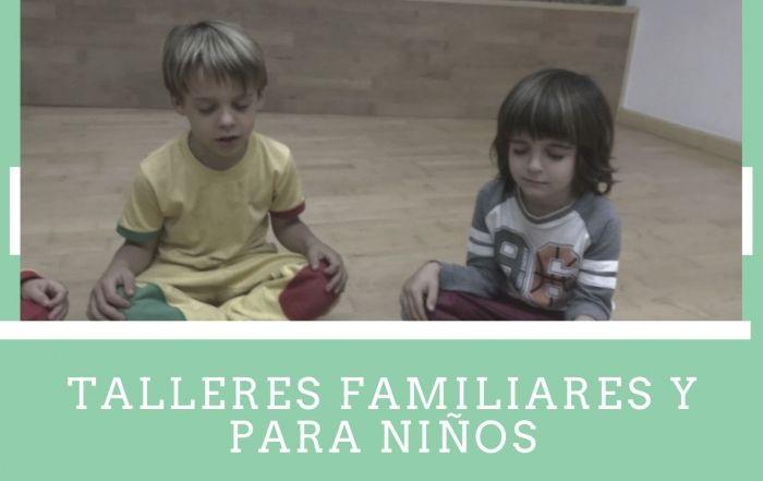 talleres familiares y para niños