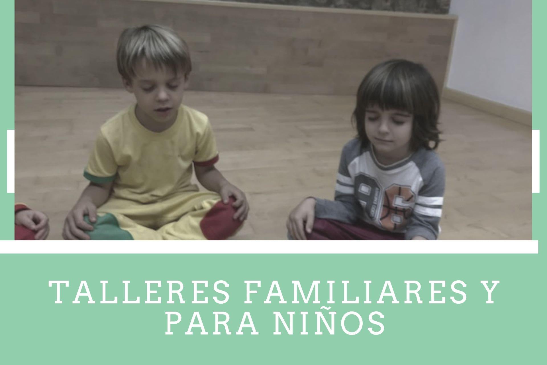 talleres familiares y para niños disciplina positiva