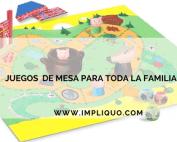 JUEGOS DE MESA PARA TODA LA FAMILIA