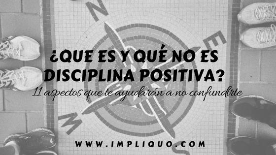 características básicas de disciplina positiva