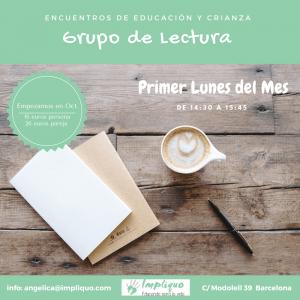 Grupo de Lectura Presencial y On Line @ Presencial - On line | Barcelona | Catalunya | España