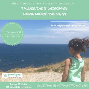 Taller Disciplina Positiva y Gestion Emocional para Niños P4 y P5 @ Dos en Dansa  | Barcelona | Catalunya | España