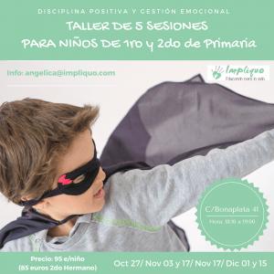 Taller Disciplina Positiva y Gestion Emocional para niños Primero y Segundo de primaria @ Dos en dansa | Barcelona | Catalunya | España