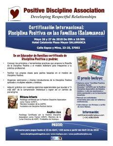 Taller de certificación Disciplina Positiva en las Familias SALAMANCA @ Salamanca | Salamanca | Castilla y León | España