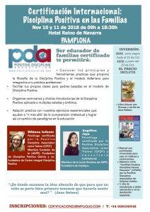 PAMPLONA, Certificacion Internacional Disciplina Positiva en las familias. @ Hotel Reino de Navarra Pamplona    Pamplona   Navarra   España
