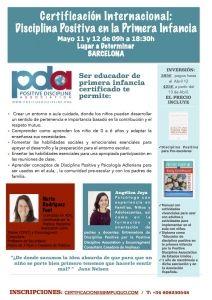 BARCELONA: CERTIFICACIÓN DISCIPLINA POSITIVA EN LA PRIMERA INFANCIA @ BARCELONA