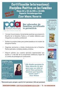 Navarra, Certificacion Internacional Disciplina Positiva en las familias. @ Espacio Portakanguritos | Pamplona | Navarra | España