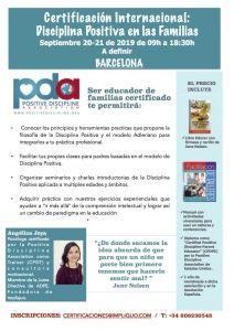 Certificación Disciplina Positiva en las Familias (barcelona) @ Barcelona