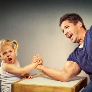 peleas padres e hijos