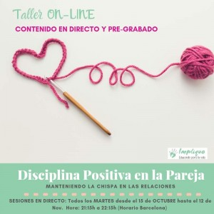 DISCIPLINA POSITIVA EN LA PAREJA (CURSO ONLINE) @ online